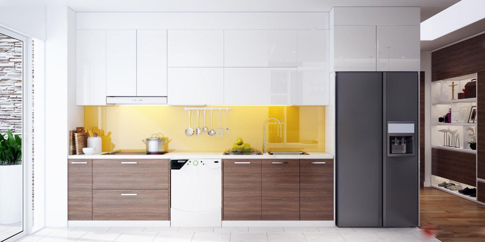 mẫu tủ bếp acrylic đẹp (02)