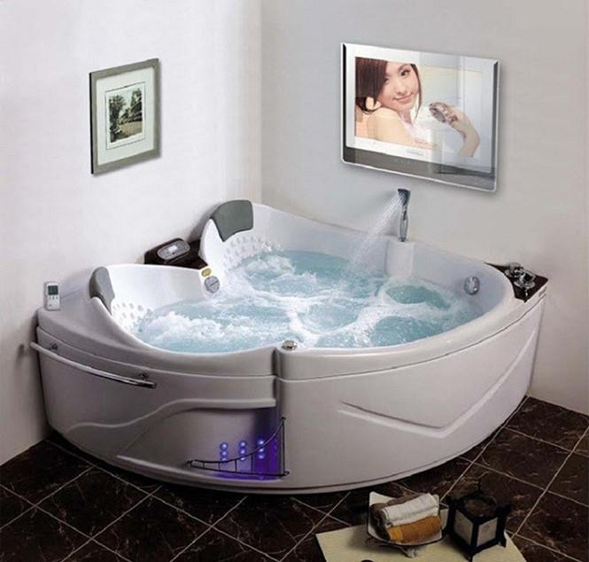 Bồn tắm góc massage tham khảo