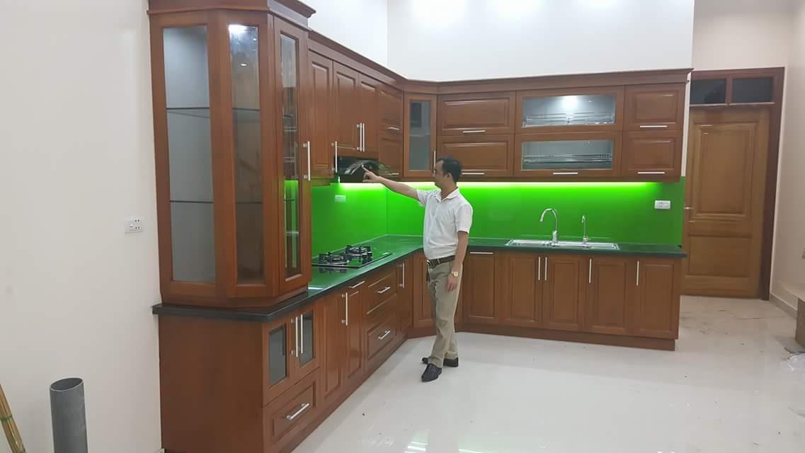 Tủ bếp tham khảo