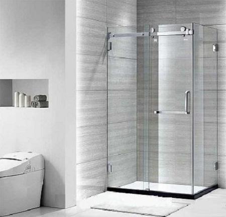 Phòng tắm vách kính Euroking tham khảo