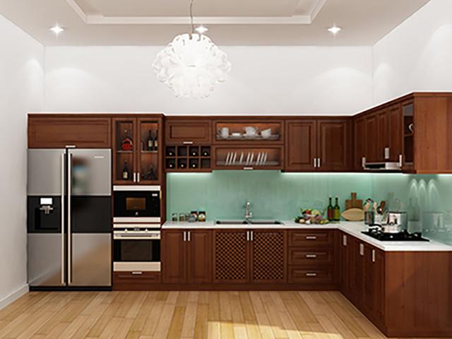 Với tủ bếp màu Navy giúp căn bếp của bạn đẹp hơn